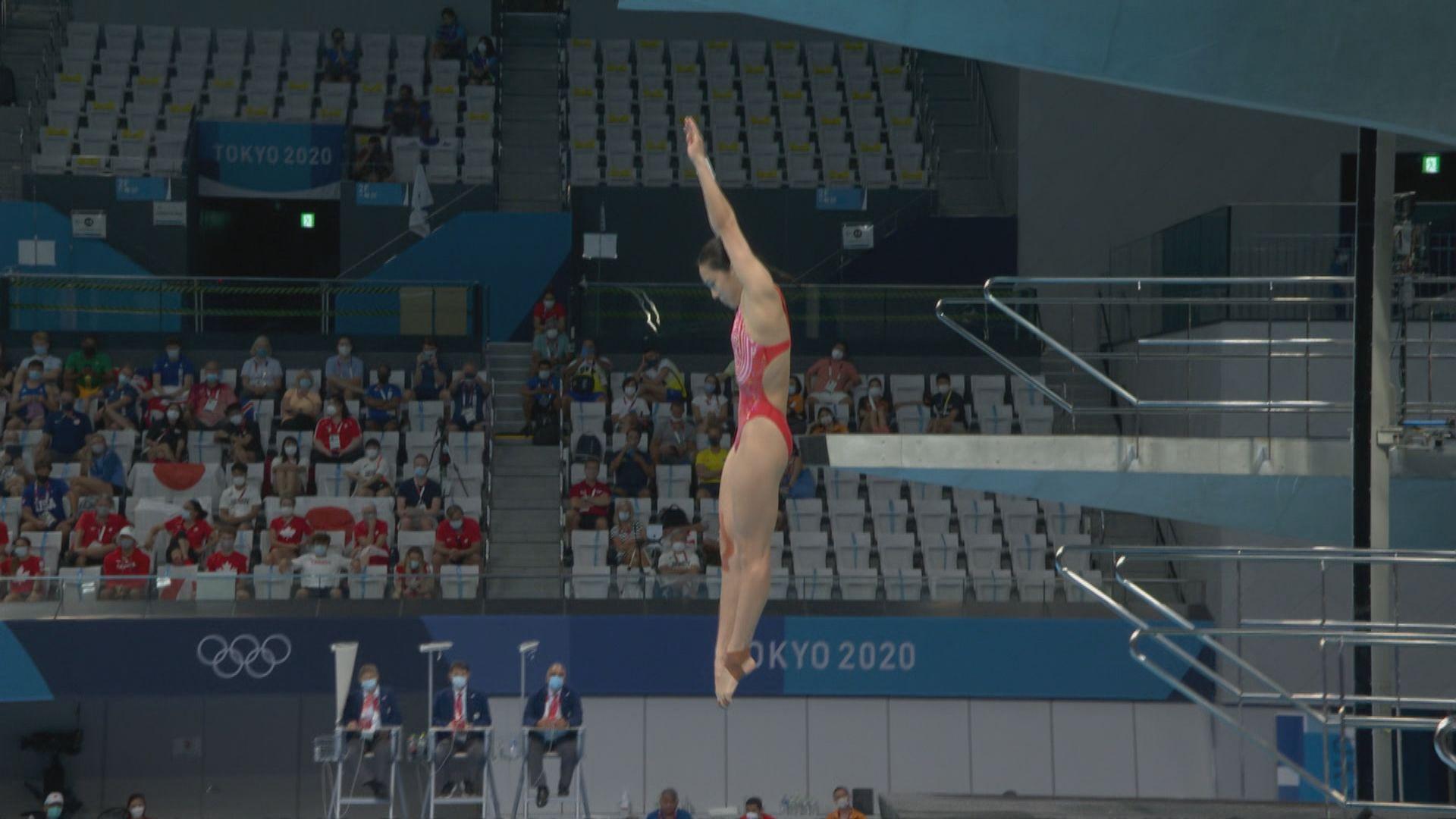 施廷懋王涵為國家隊包辦女子跳水三米板金銀牌