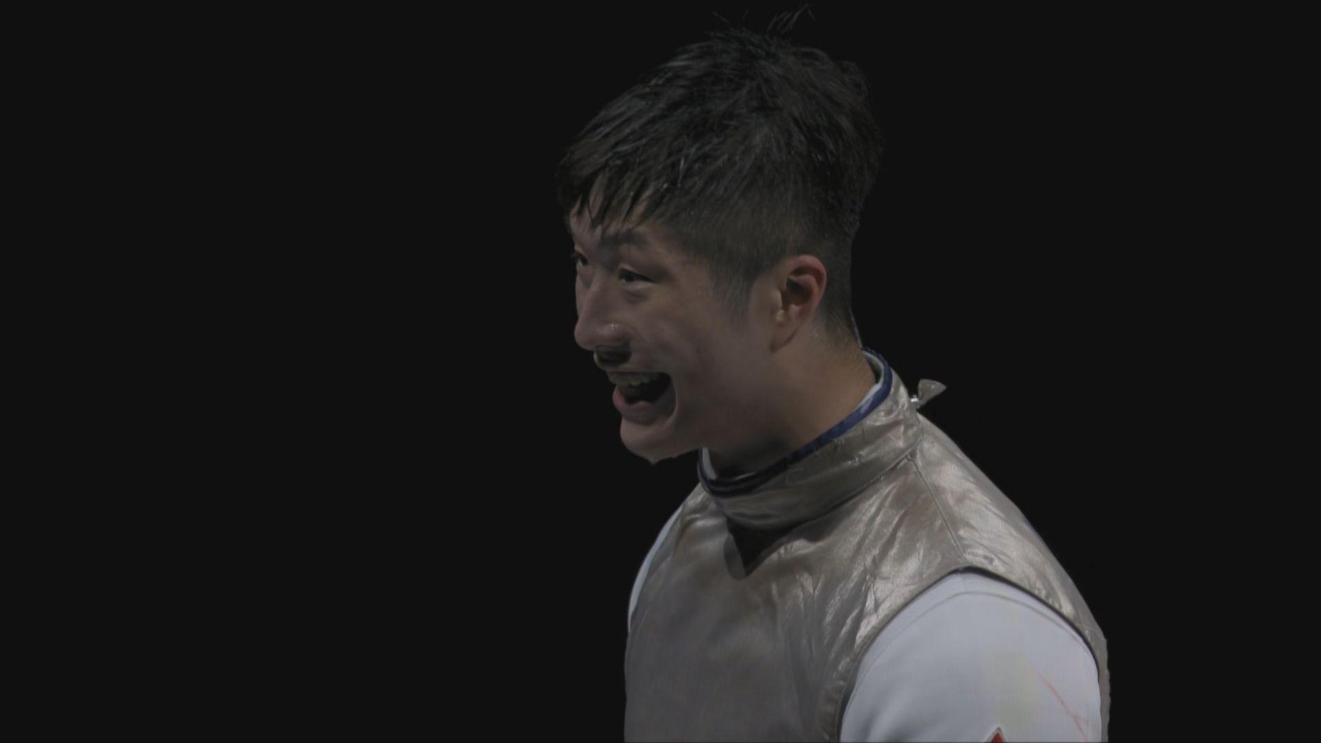 張家朗男子個人花劍奪金 為港隊贏得歷來第二面金牌