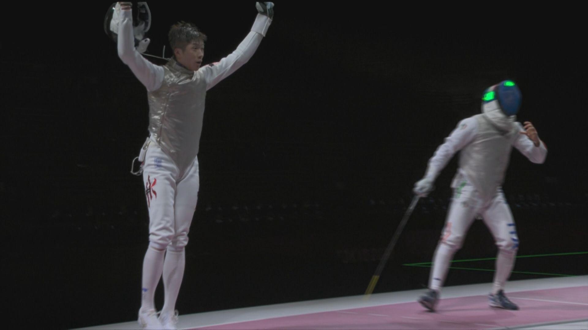 張家朗男子個人花劍對撼上屆冠軍 為港隊贏得歷來第二面奧運金牌