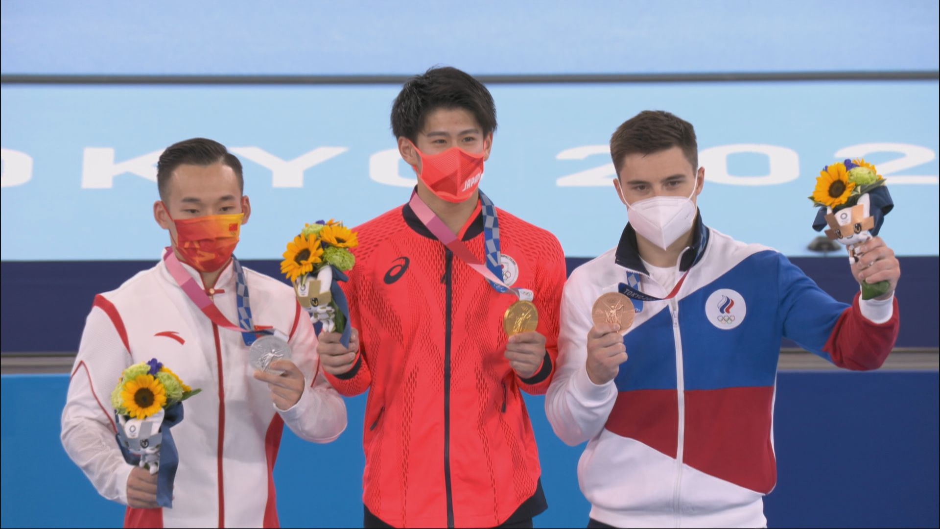 體操男子全能 日本奪金中國得銀