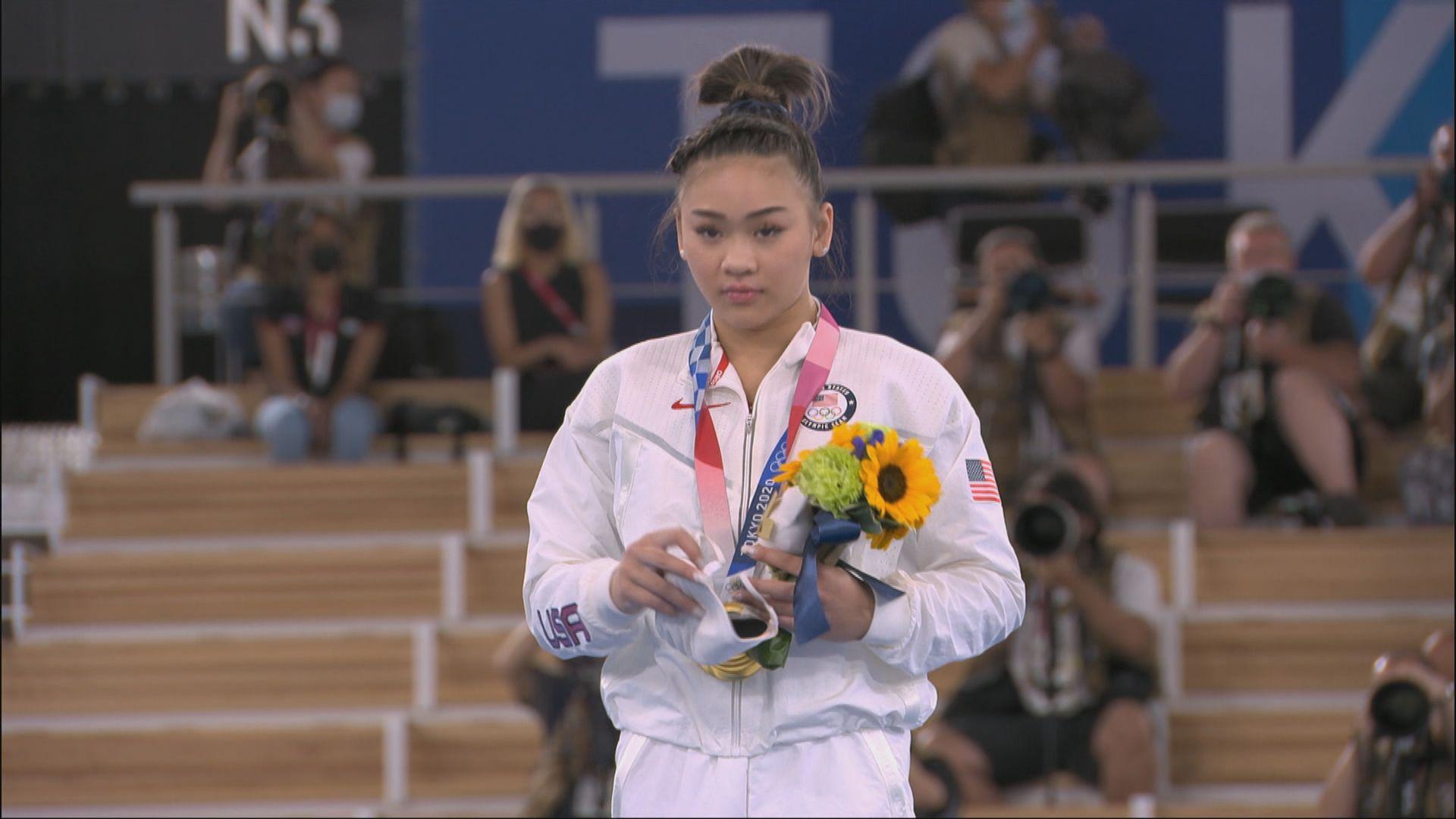 體操 美國選手李爾女子全能奪金
