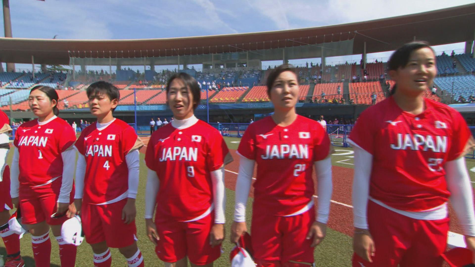 奧運壘球、女足賽事開幕禮前搶閘上演