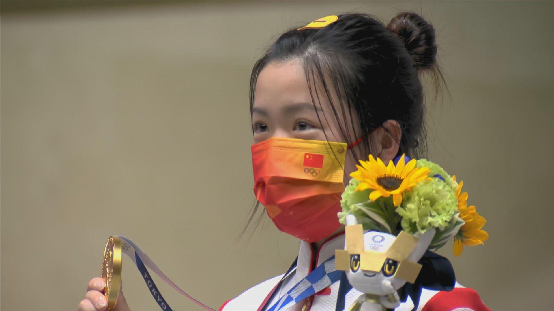 中國射擊隊近十屆奧運第七次為代表團贏得首金