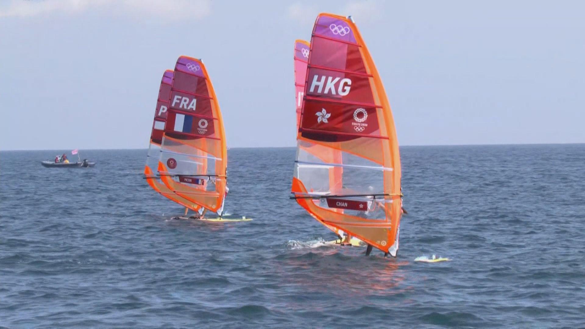 奧運女子滑浪風帆 港隊陳晞文總成績排第八