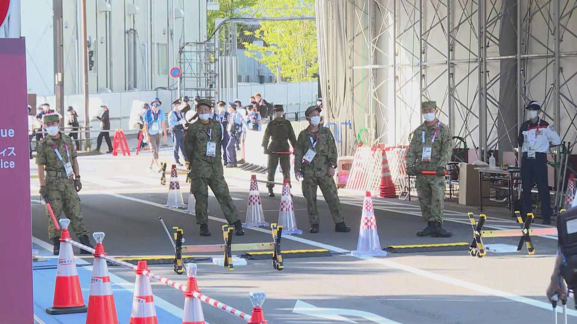 東京奧運開幕場地一帶保安增強