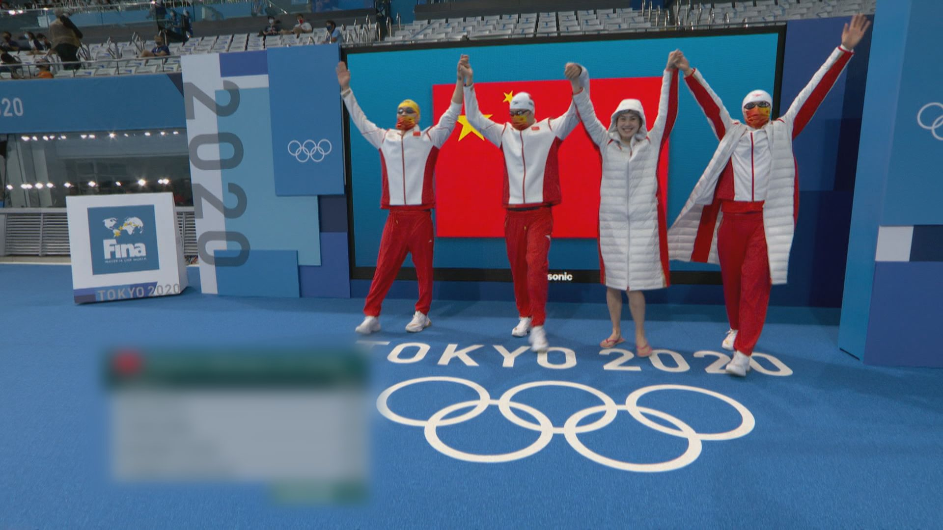 國家隊男女4x100混合泳接力奪銀
