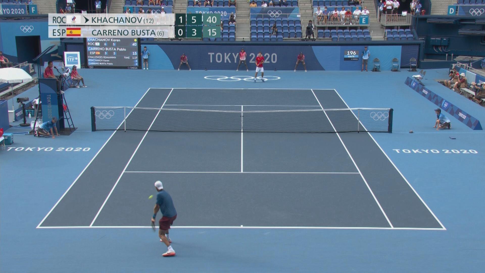 施維列夫將與卡查洛夫爭網球男單冠軍