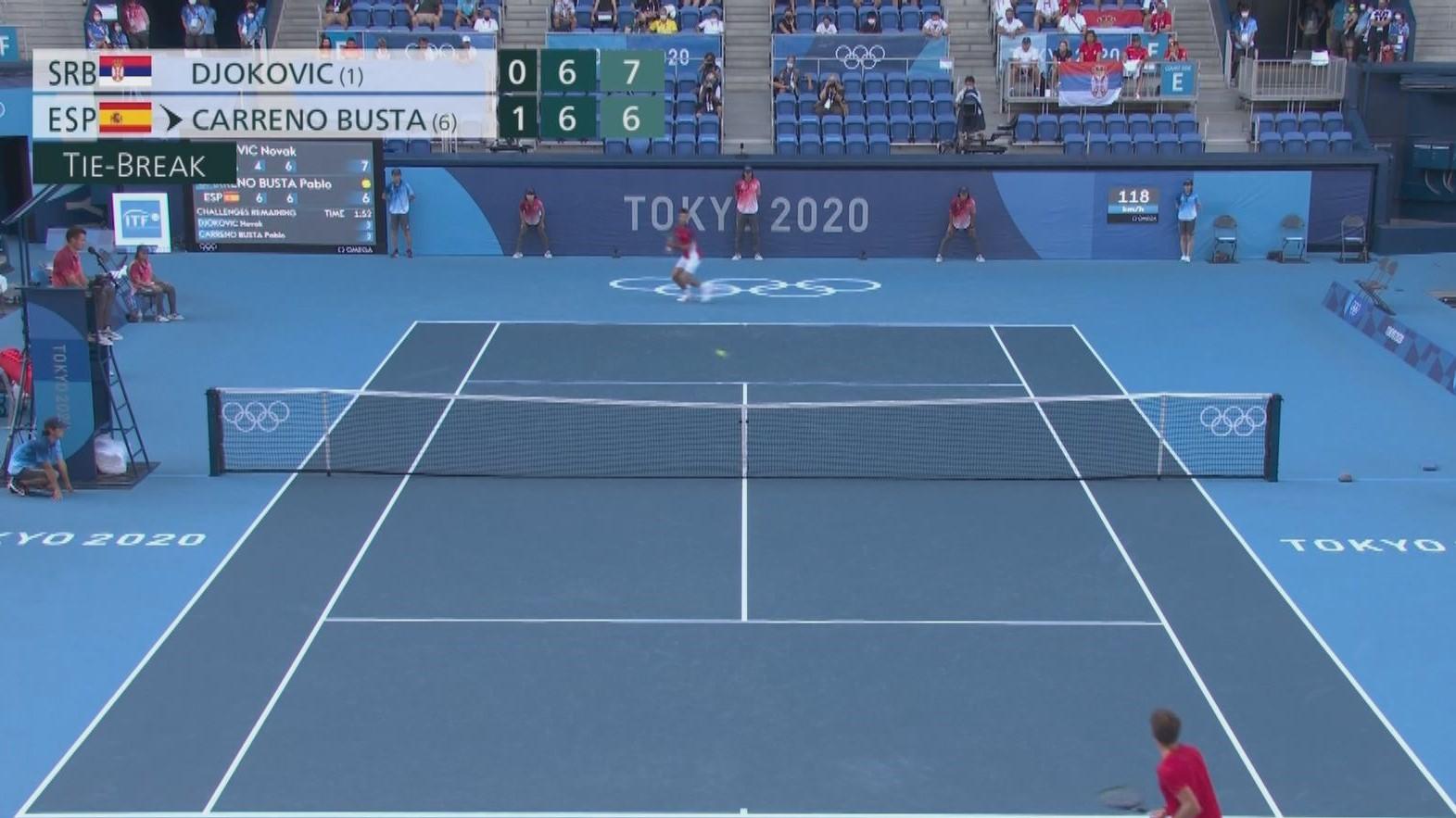 布斯達挫祖高域網球男單奪銅牌