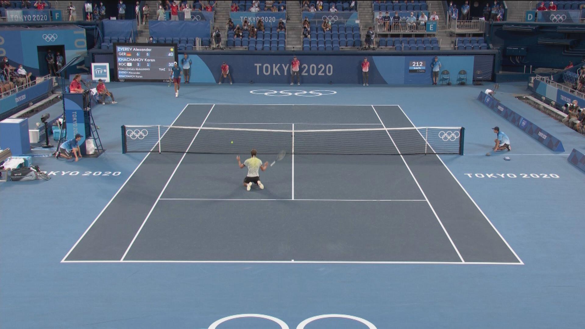施維列夫兩盤擊敗卡查洛夫 取得德國首面網球男單金牌