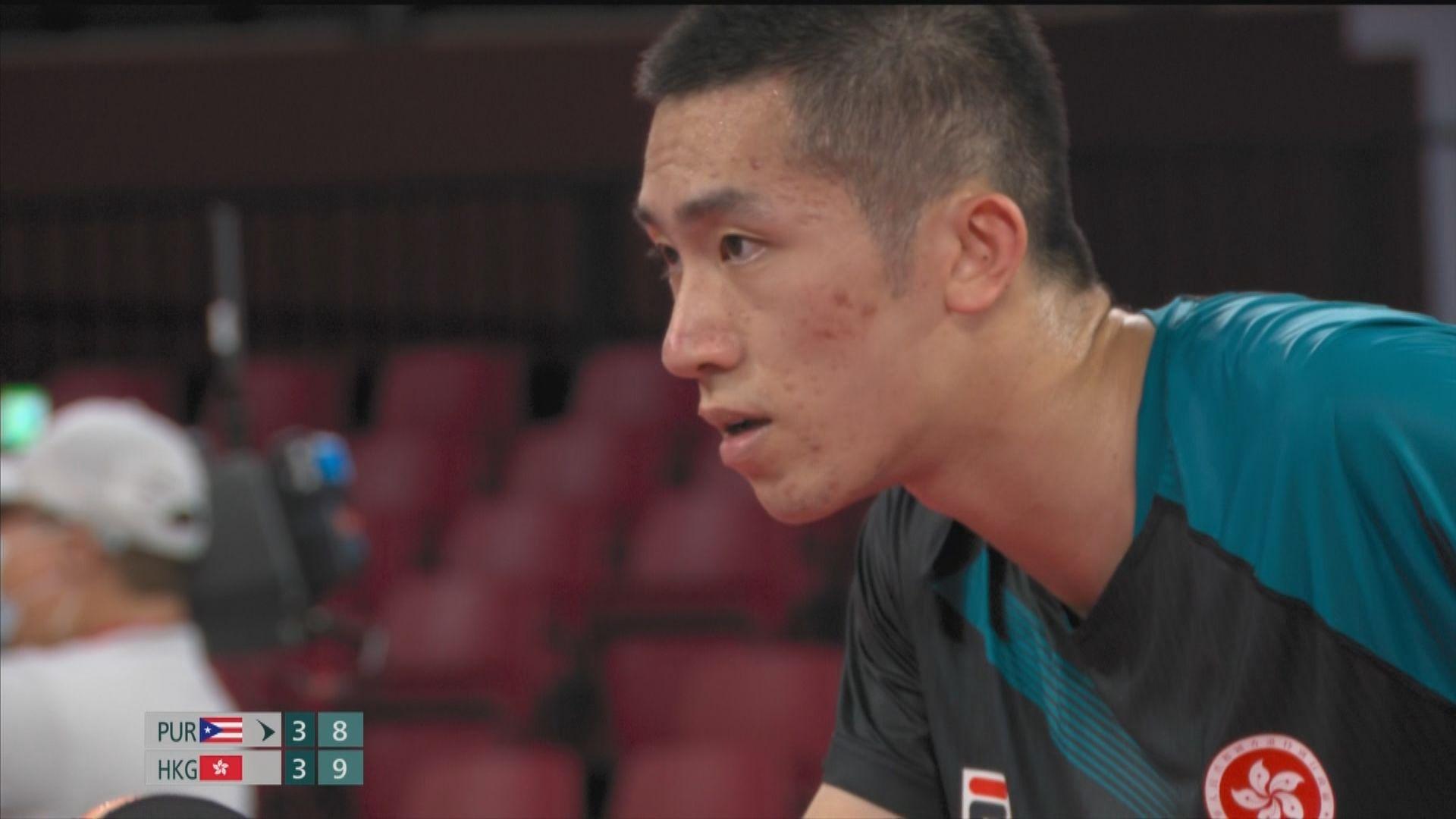 【東奧速遞】乒乓球男單 林兆恒晉級第二圈