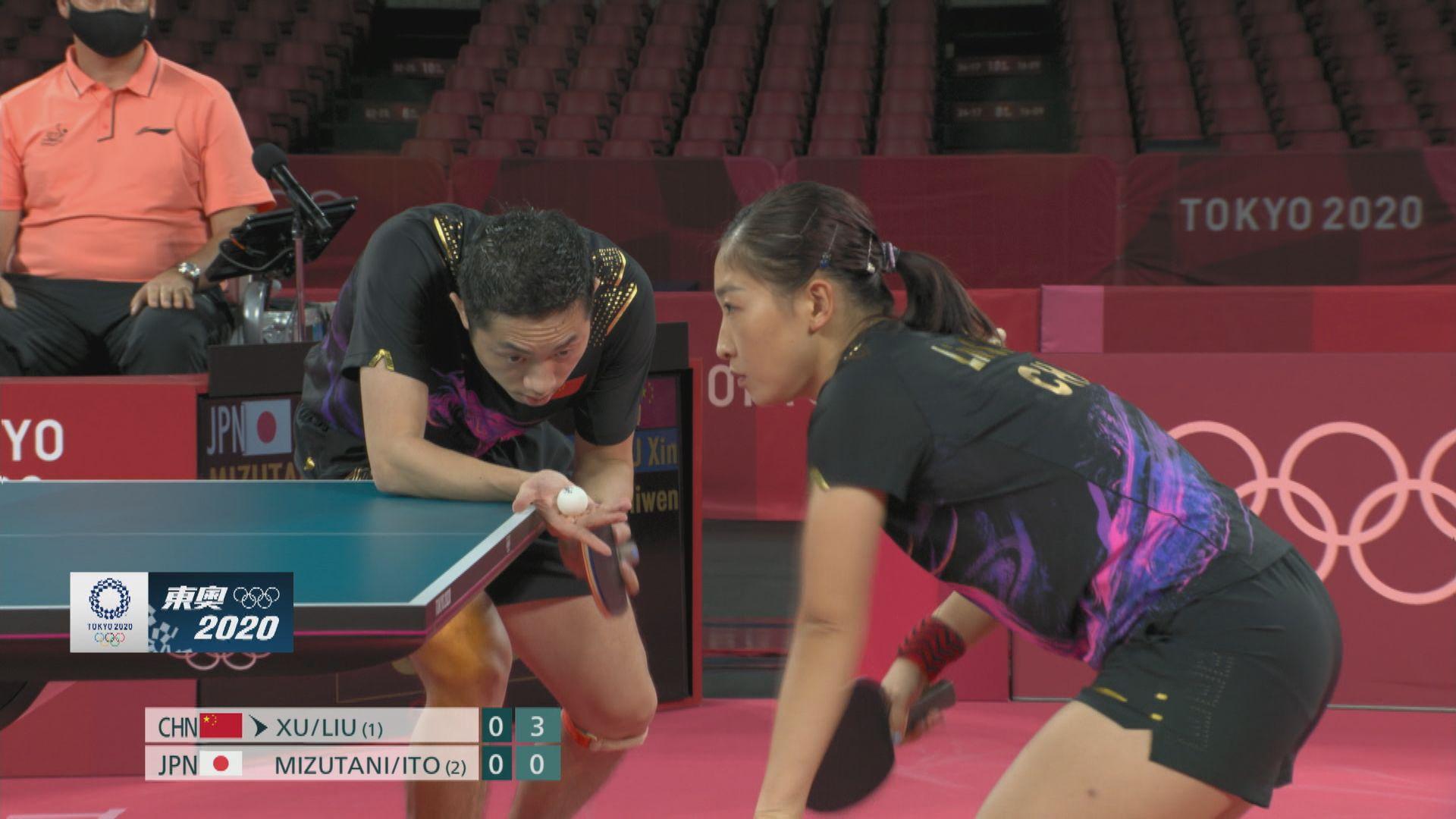 乒乓球混雙項目國家隊再添銀牌