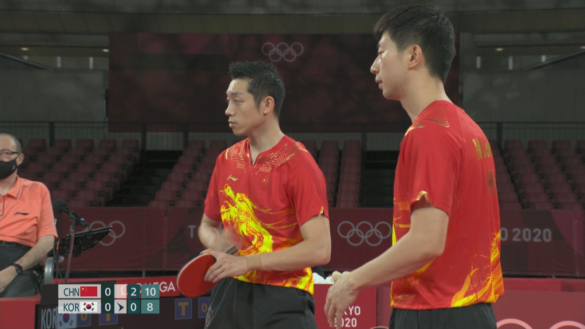 奧運男子乒乓球團體賽 德國挫日本晉身決賽