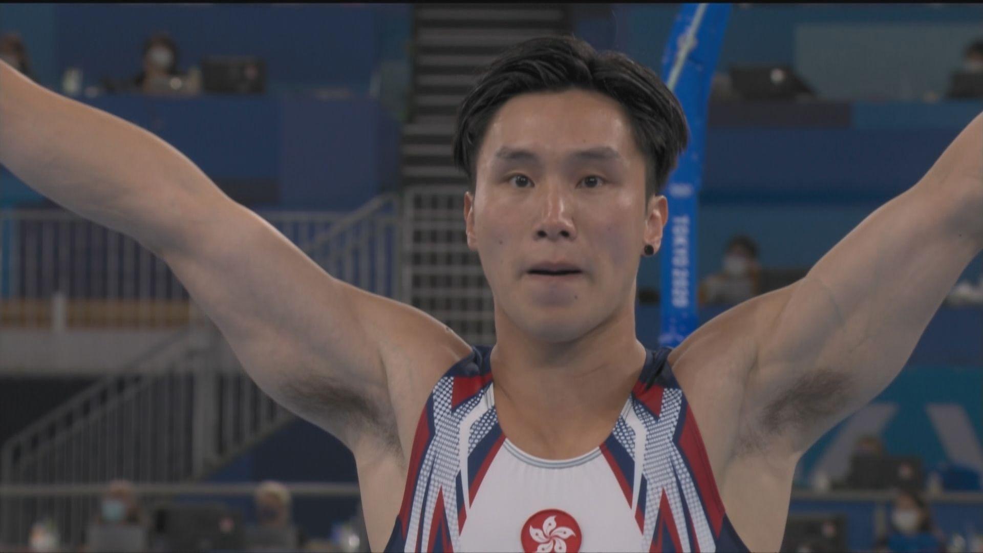男子跳馬預賽 石偉雄暫時排名第四有望入決賽