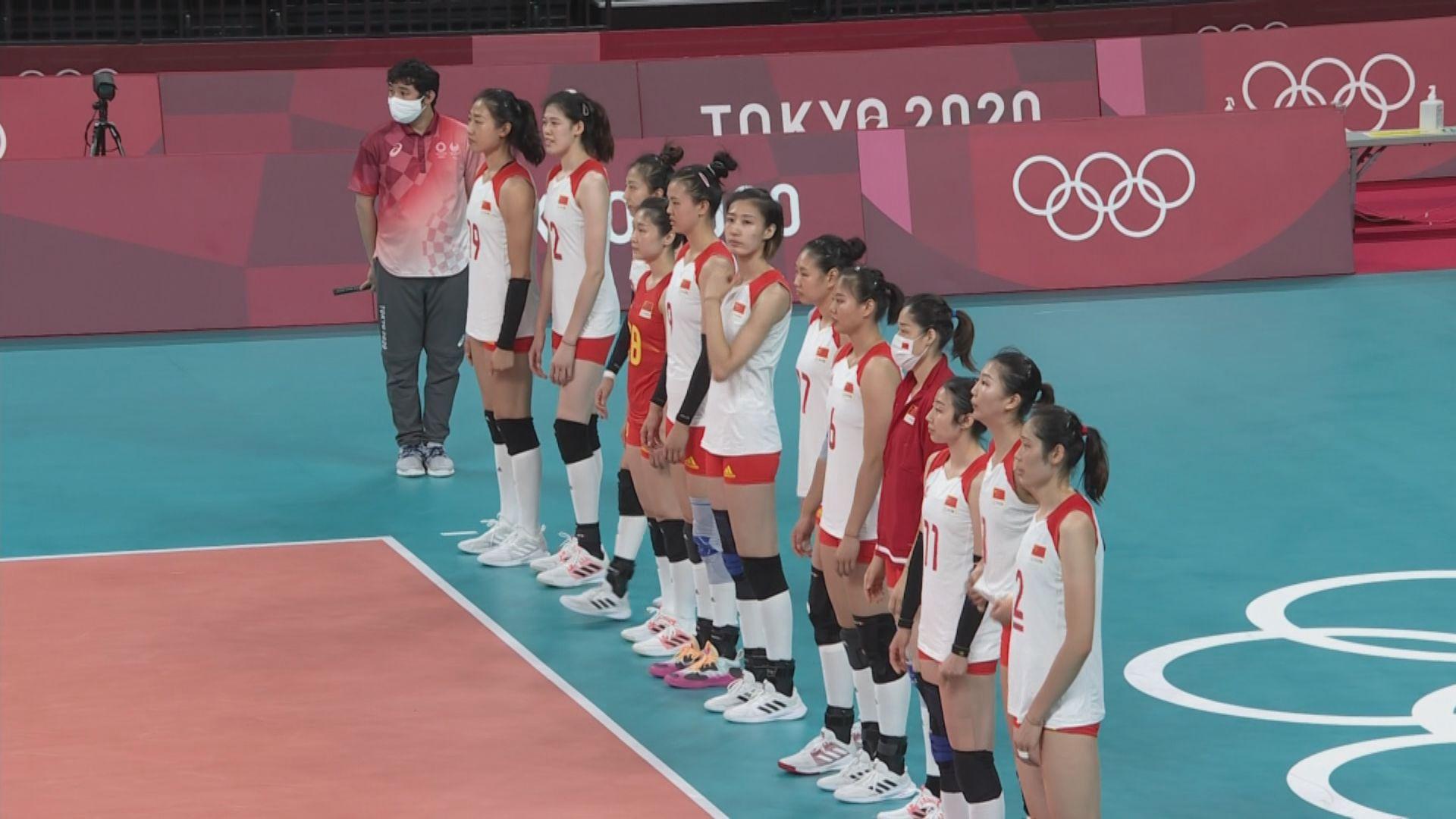 女排分組賽 國家隊不敵俄羅斯奧委會