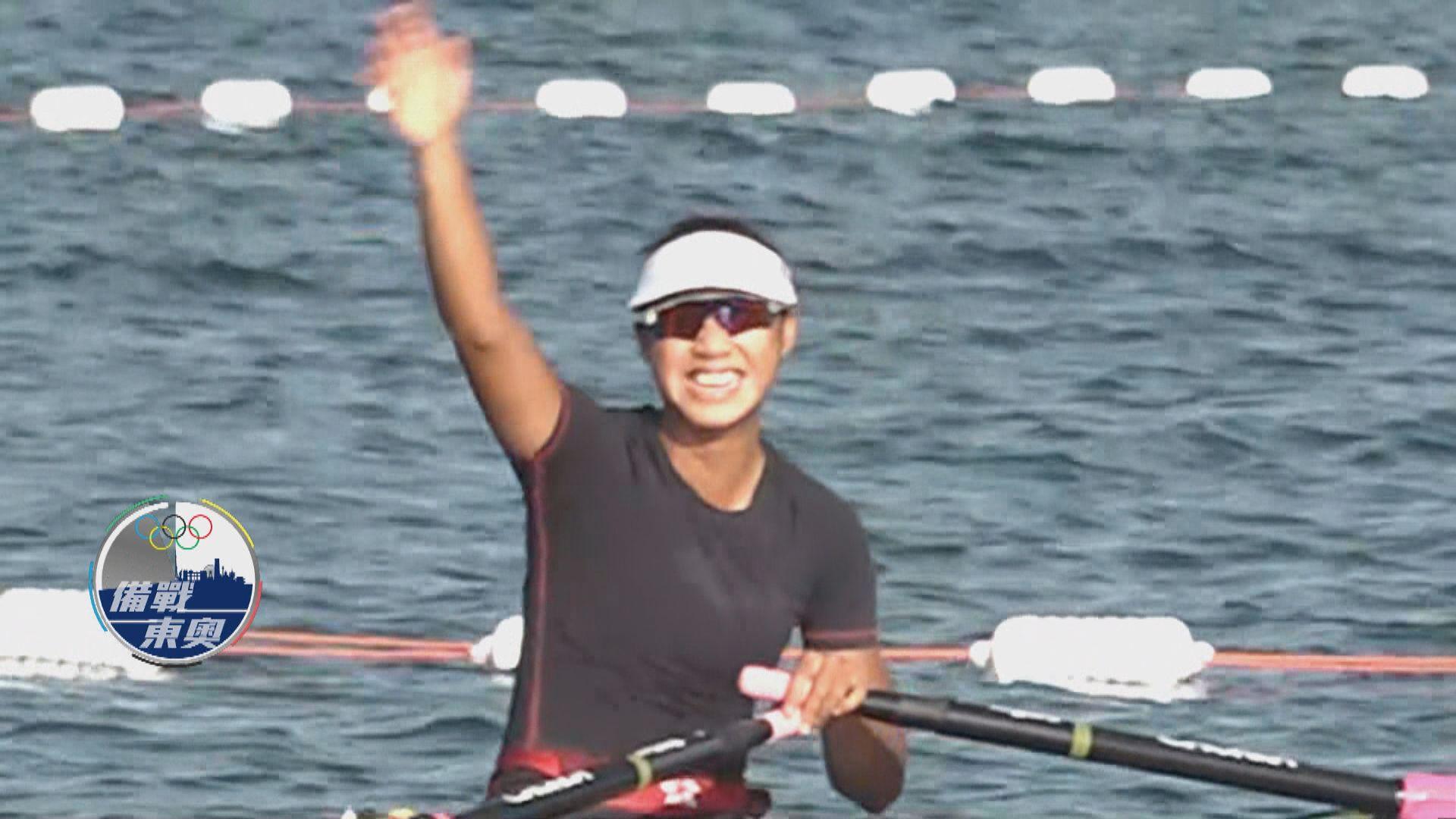 【備戰東奧】奧運開幕倒數三天 港隊代表到賽艇場備戰