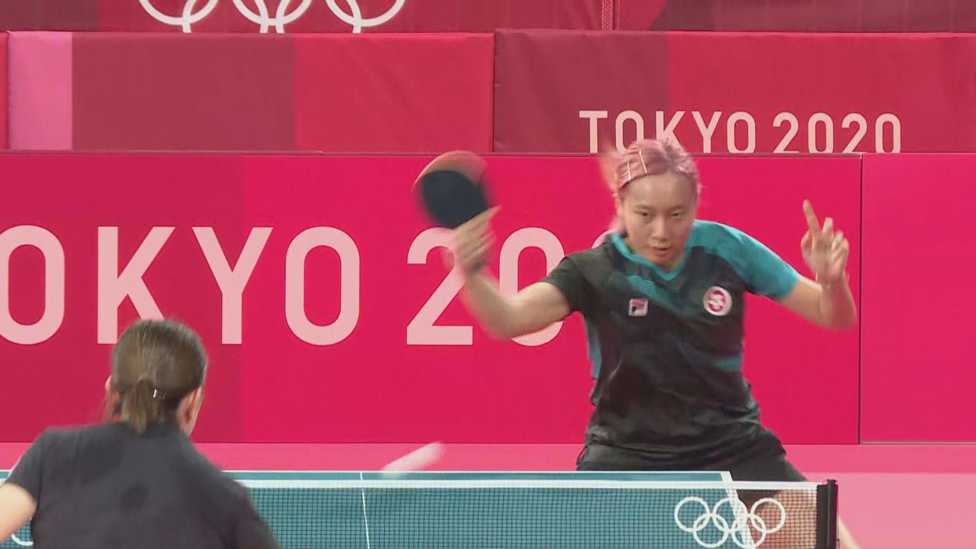 【備戰東奧】東奧開幕倒數四天 港乒乓球隊到場館備戰