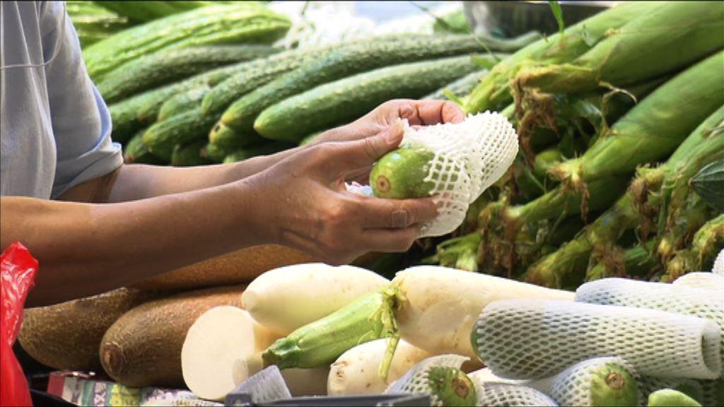 食環署同意積極跟進進口蔬果監管不足