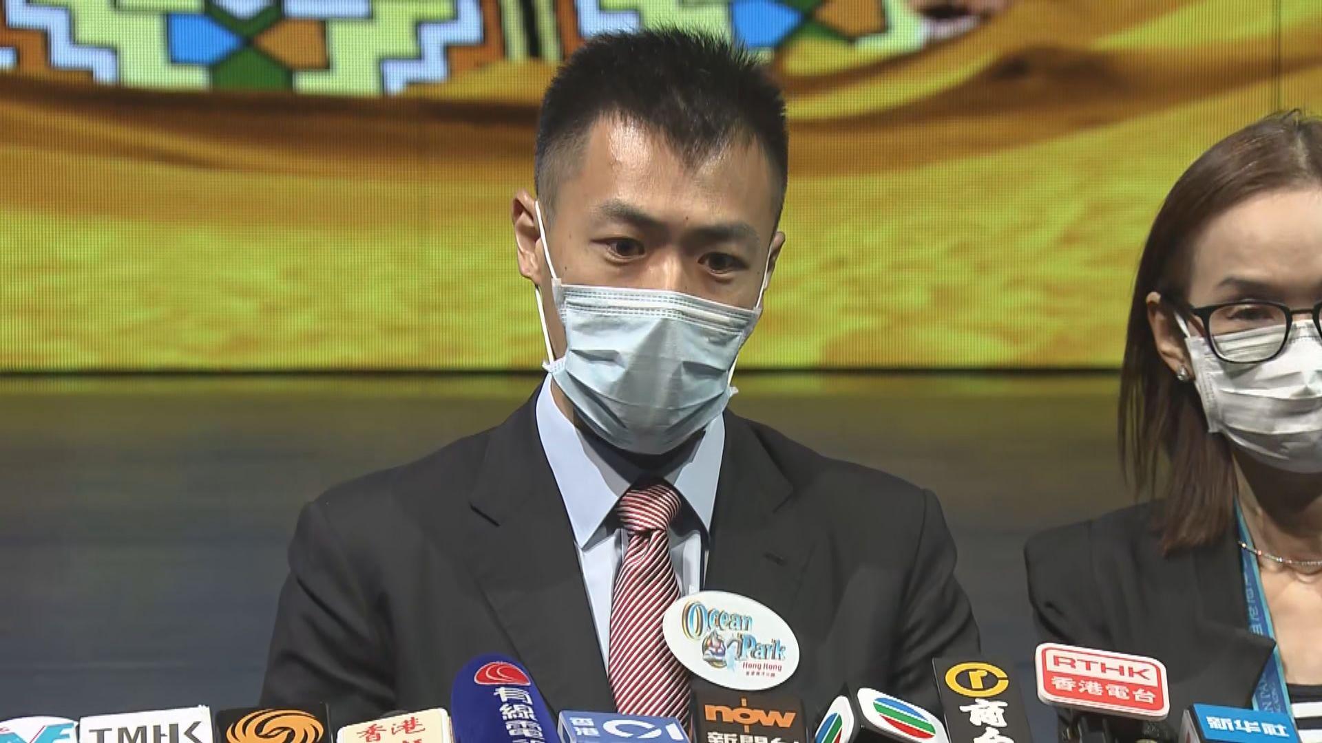 劉鳴煒:上任主席後會與政府董事局檢討海洋公園定位