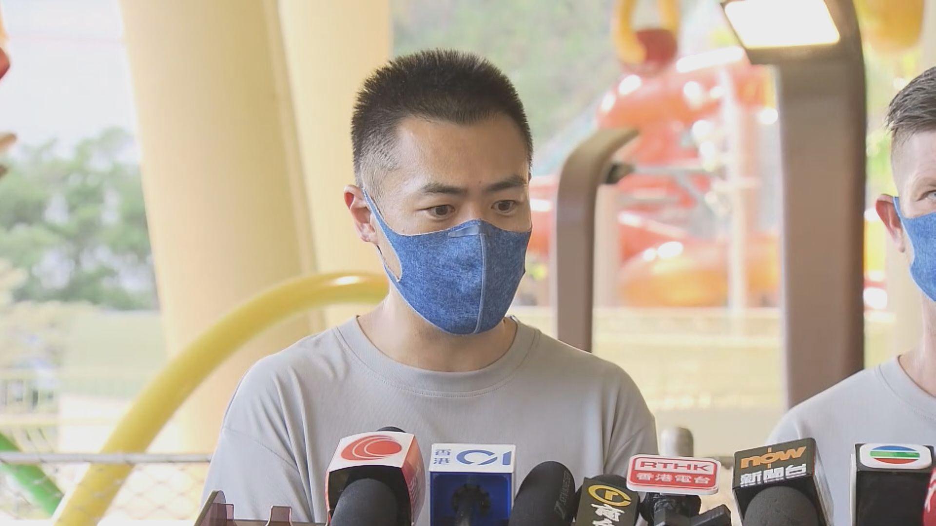 劉鳴煒:未有打算要求水上樂園員工接種疫苗