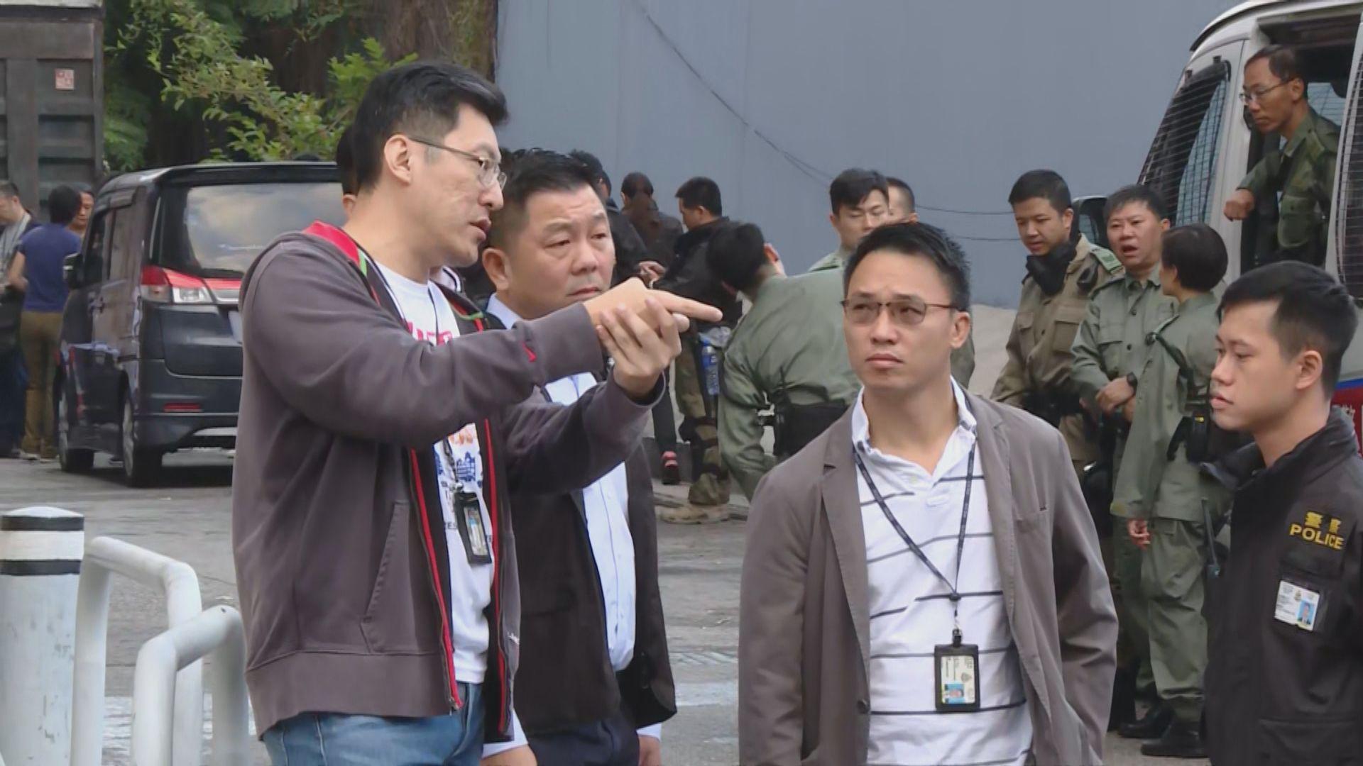 葵涌警員開槍擊中一名男子 另外一人涉襲警被捕