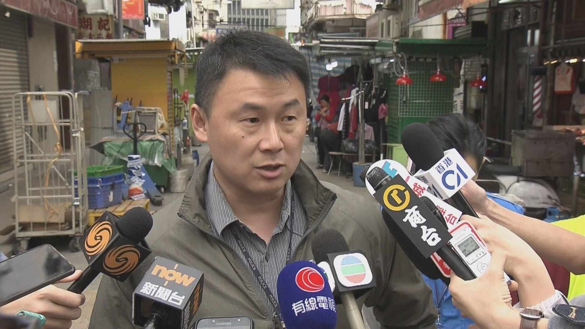 警方指持刀男子與食品公司經理曾有糾紛
