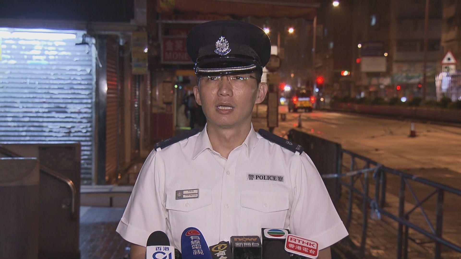 深水埗懷疑槍擊案 警方已鎖定一名本地男子