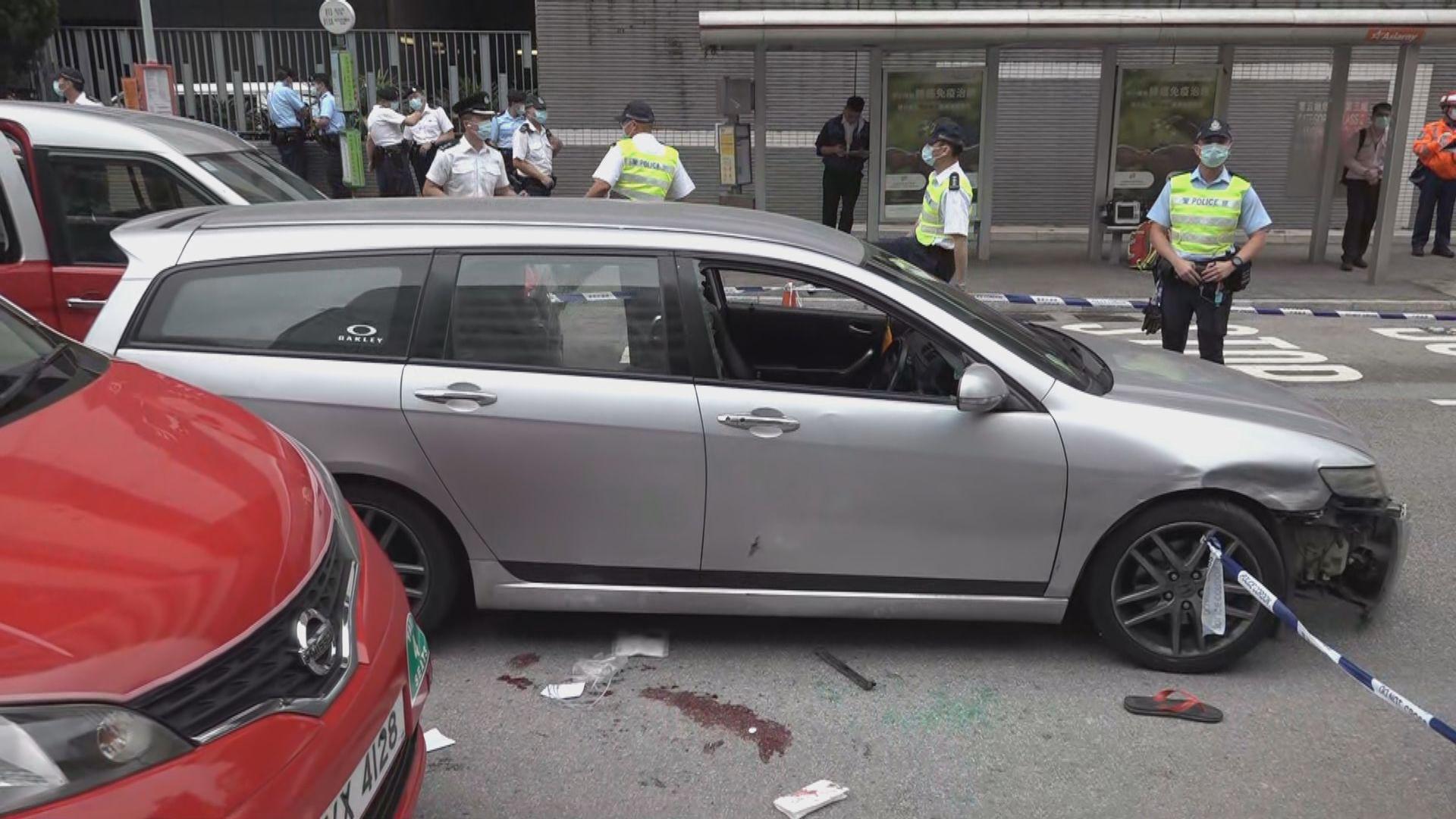 警員於沙田追截可疑車輛期間開槍 一人中槍