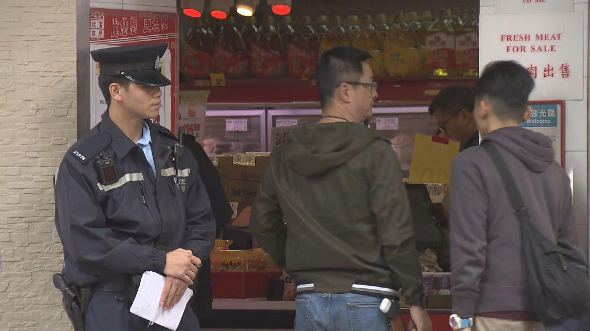 油麻地警員向持刀男開槍 男子中槍死亡
