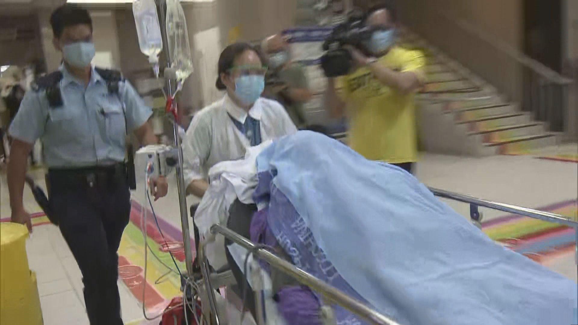 油麻地男子中槍負傷駕車到醫院