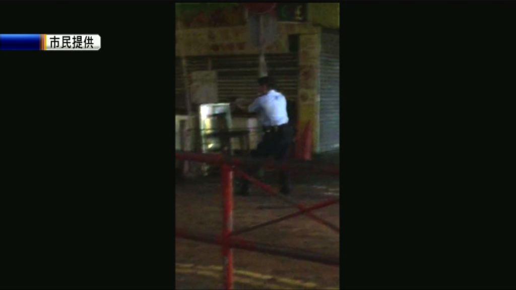 警員油麻地開四槍制止傷人案 西九龍重案組接手調查