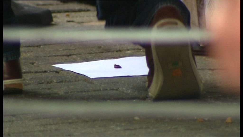 警方發現懷疑彈頭