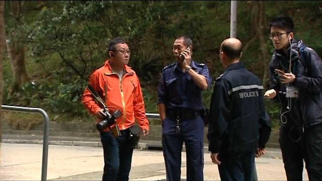 沙田廣林苑家庭糾紛有警員開槍
