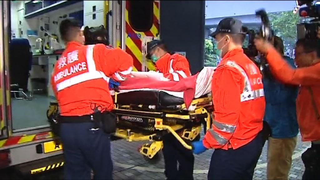廣林苑搶槍開槍案 兩警員受傷無生命危險