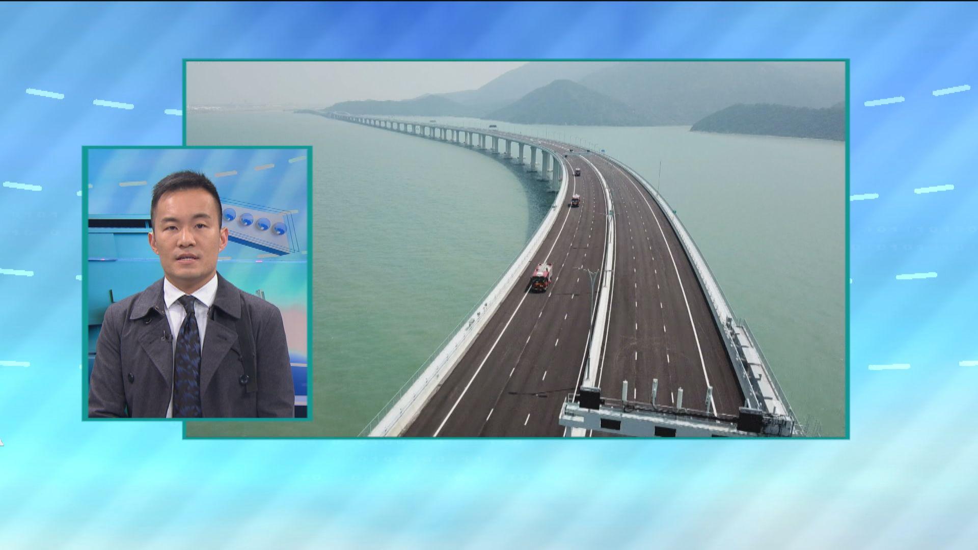 【政情】大橋開通禁攜手機 只能目測無法留影