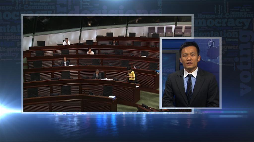 【政情】逾十泛民擬「拉布」醫委條例現暗湧
