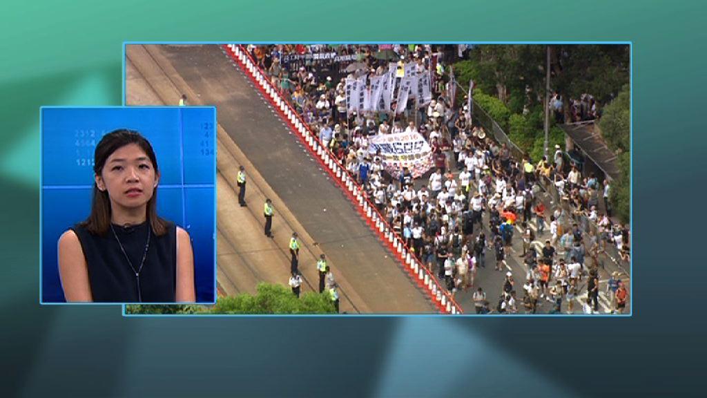 【政情】七一去向未定 遊行或變公民抗命
