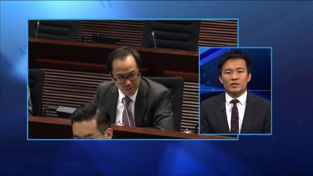 【政情】UGL委員會 梁繼昌將成沙包