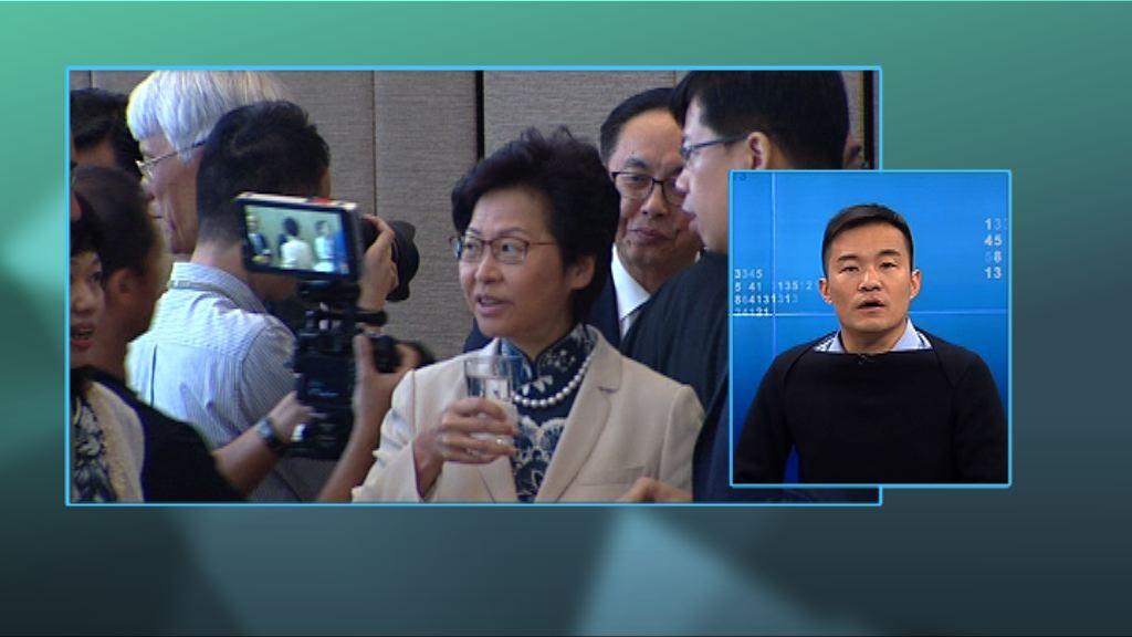【政情】泛民不滿林鄭「扮友好」拒赴立會春茗