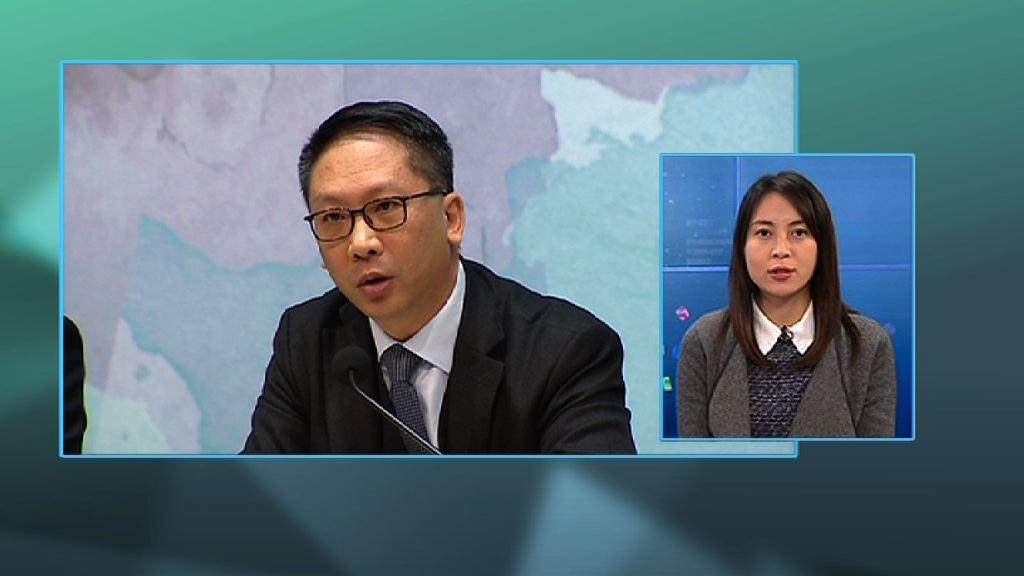 【政情】袁國強料同步過2018