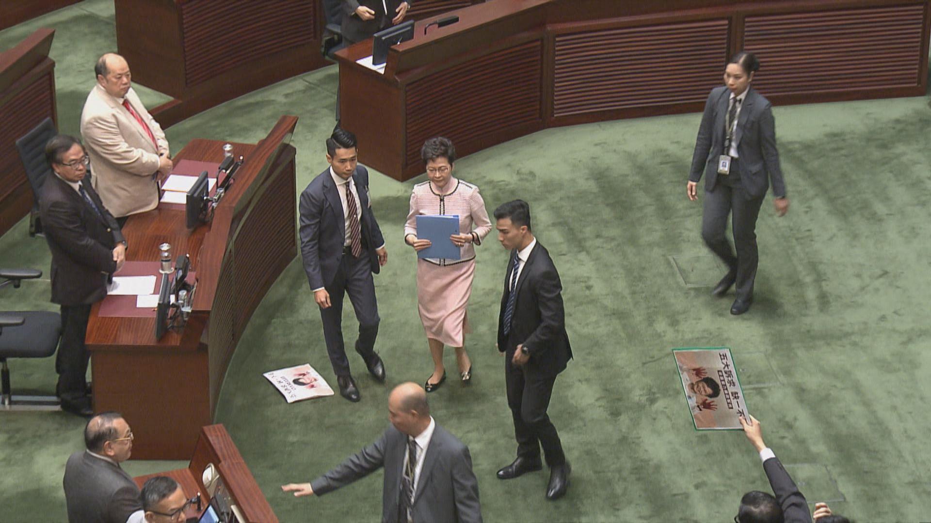 林鄭透過視像發表施政報告 歷史上首次