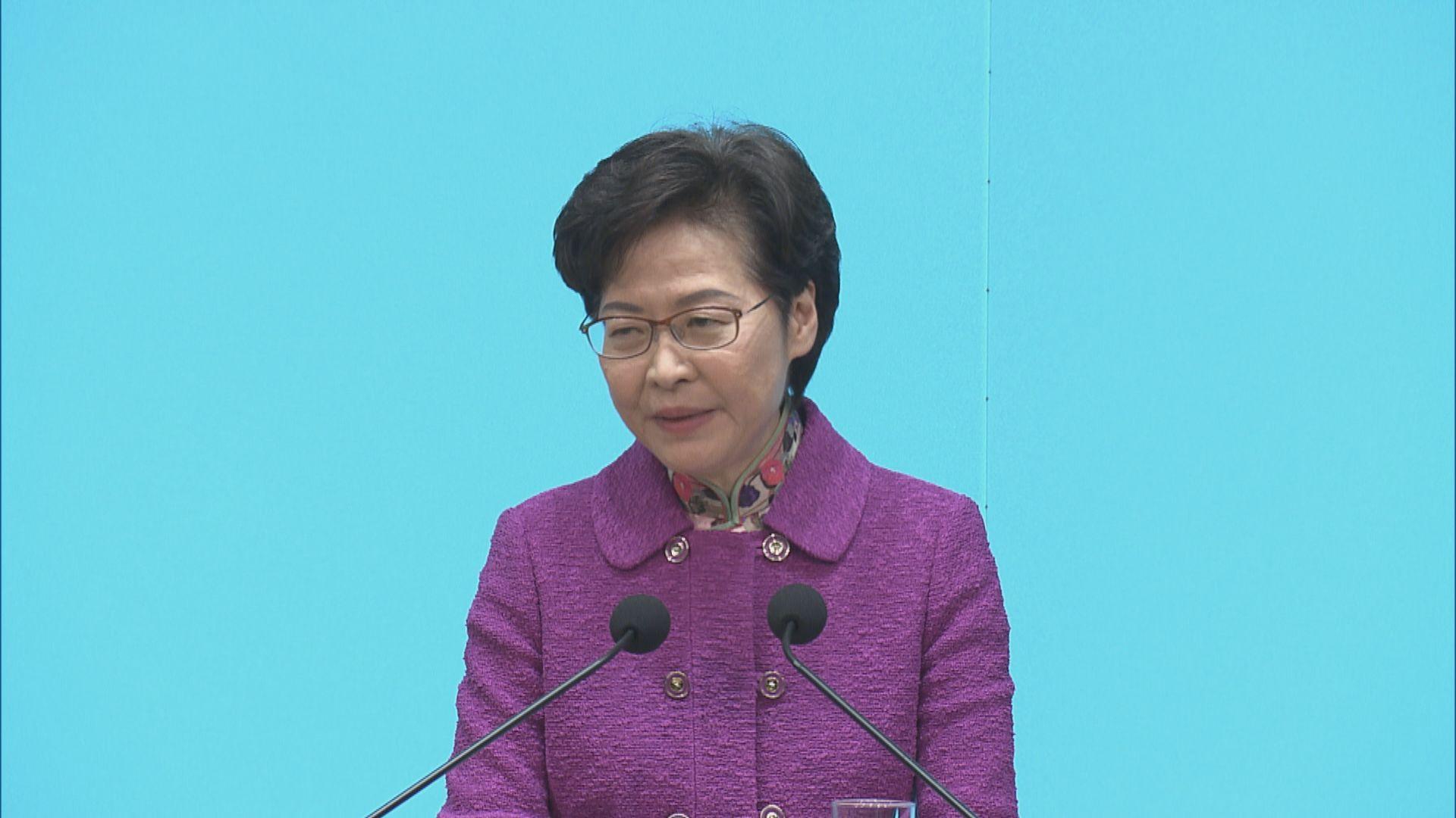 林鄭:不排除封鎖有爆發地方強制檢測 惟難推至全民檢測