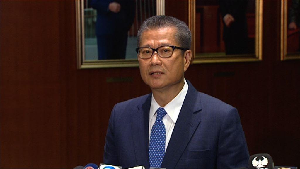陳茂波:政府有足夠能力負擔施政報告措施