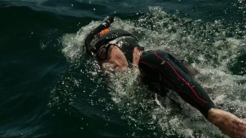 法國男子挑戰成首位游泳橫渡太平洋