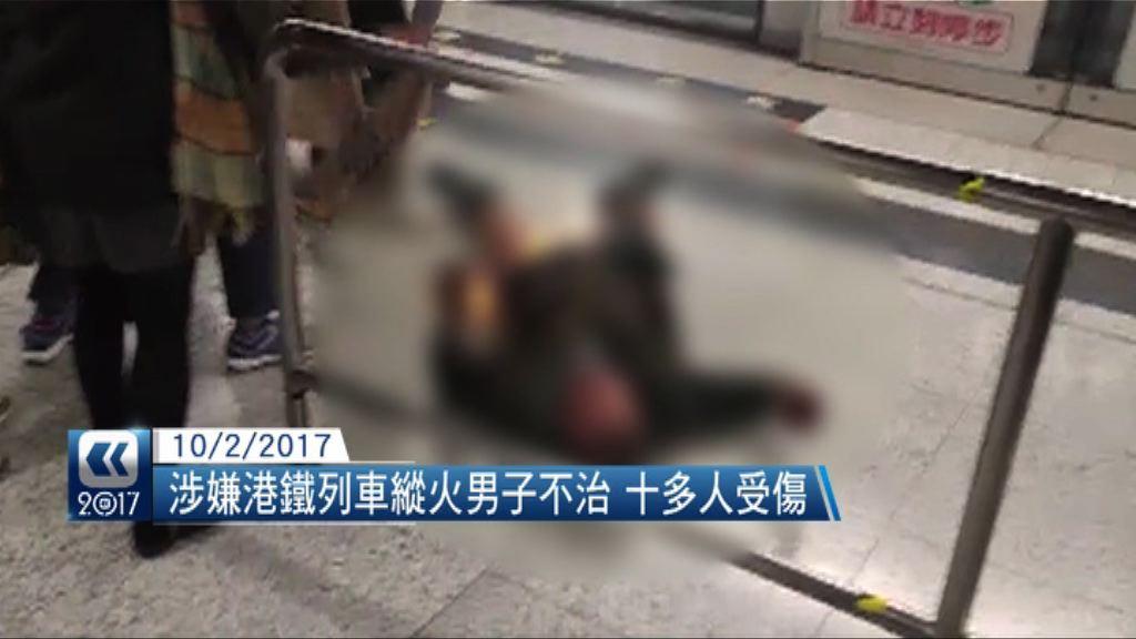 【香港大事回顧】港鐵下班時間遭縱火 天鴿襲港澳災情嚴重