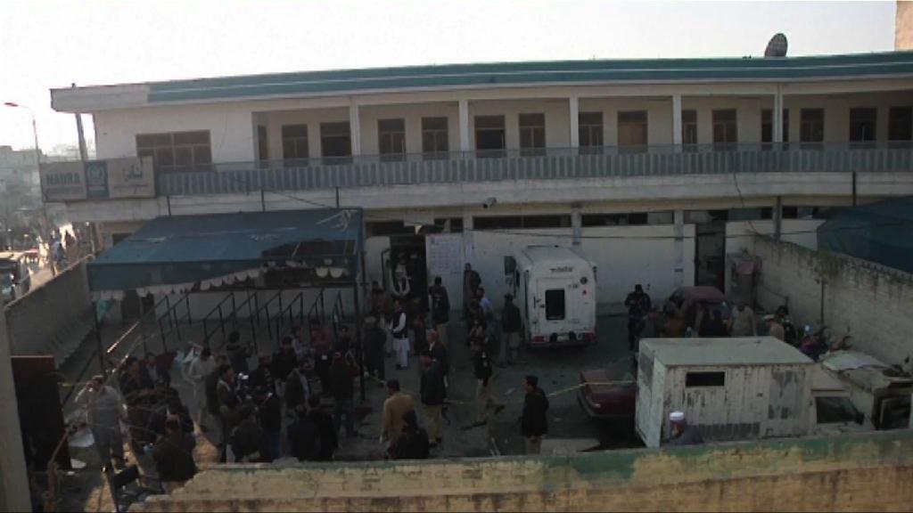 巴基斯坦馬爾丹政府大樓遭炸彈襲擊