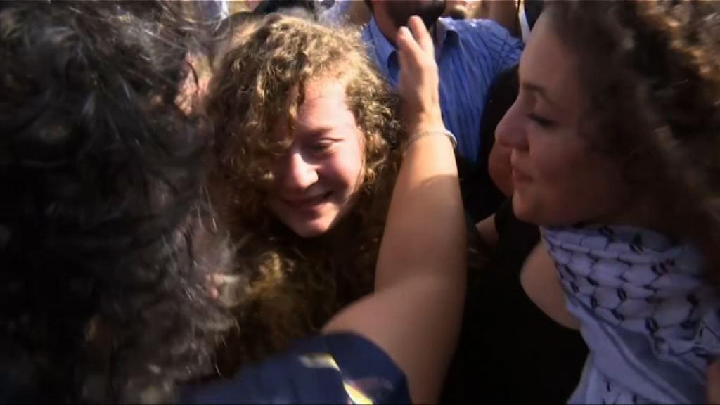 被囚少女成巴勒斯坦爭取自由獨立的象徵
