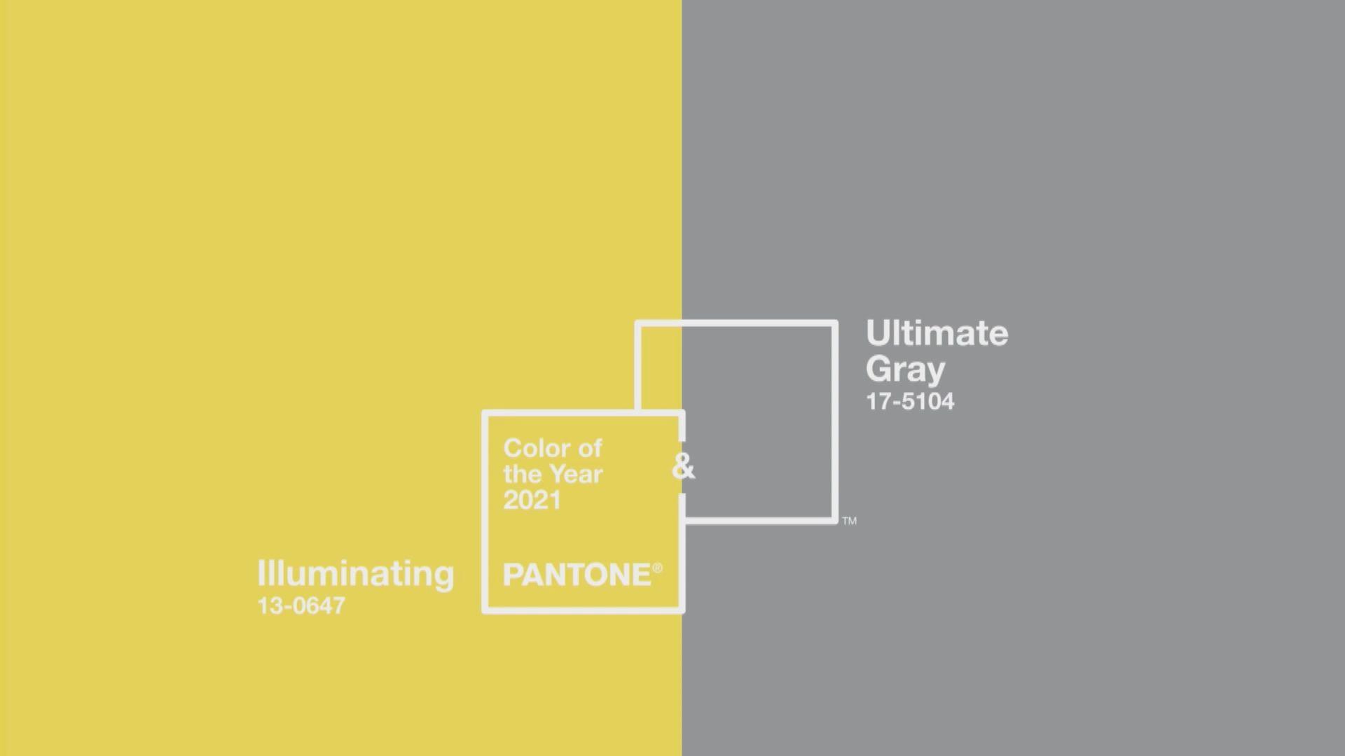 亮麗黃和極致灰獲選PANTONE年度顏色