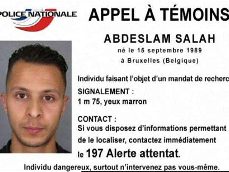 消息指巴黎恐襲主犯正潛逃敘利亞