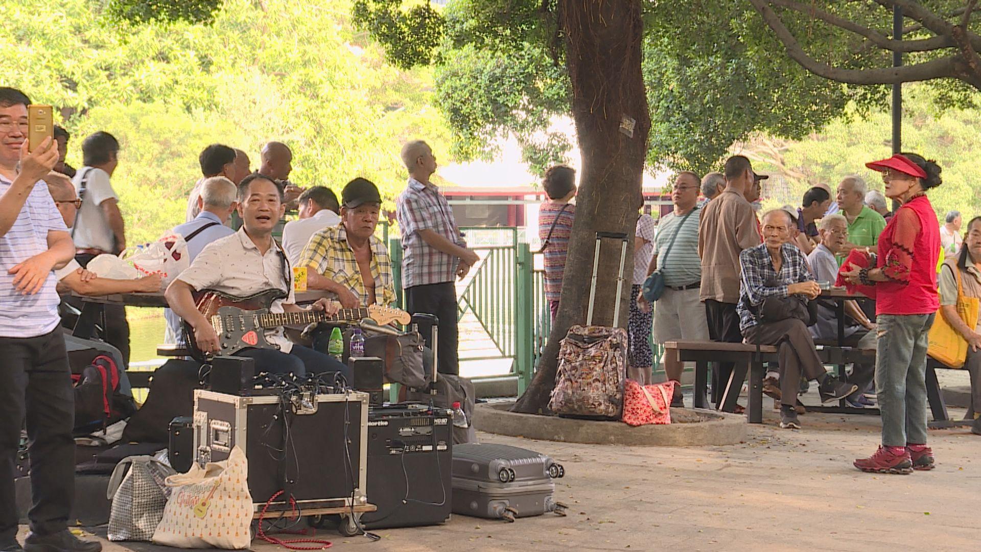 政府建議修例打擊公園噪音滋擾問題