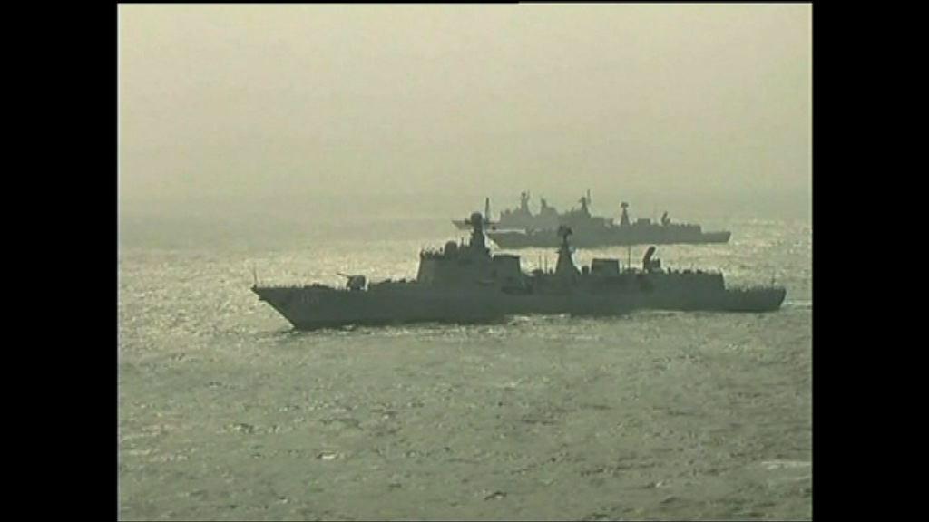 專家:中國軍事行動跟三大海域安全威脅有關